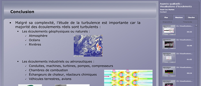 photo du module sur les turbulences